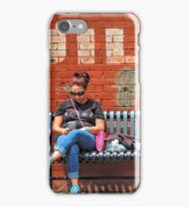 Room on the Bench iPhone Case/Skin