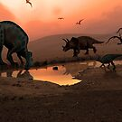 The Watering Hole by Mark A. Garlick