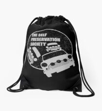 Classic Mini Cooper S - Italian Job - Reversed Drawstring Bag