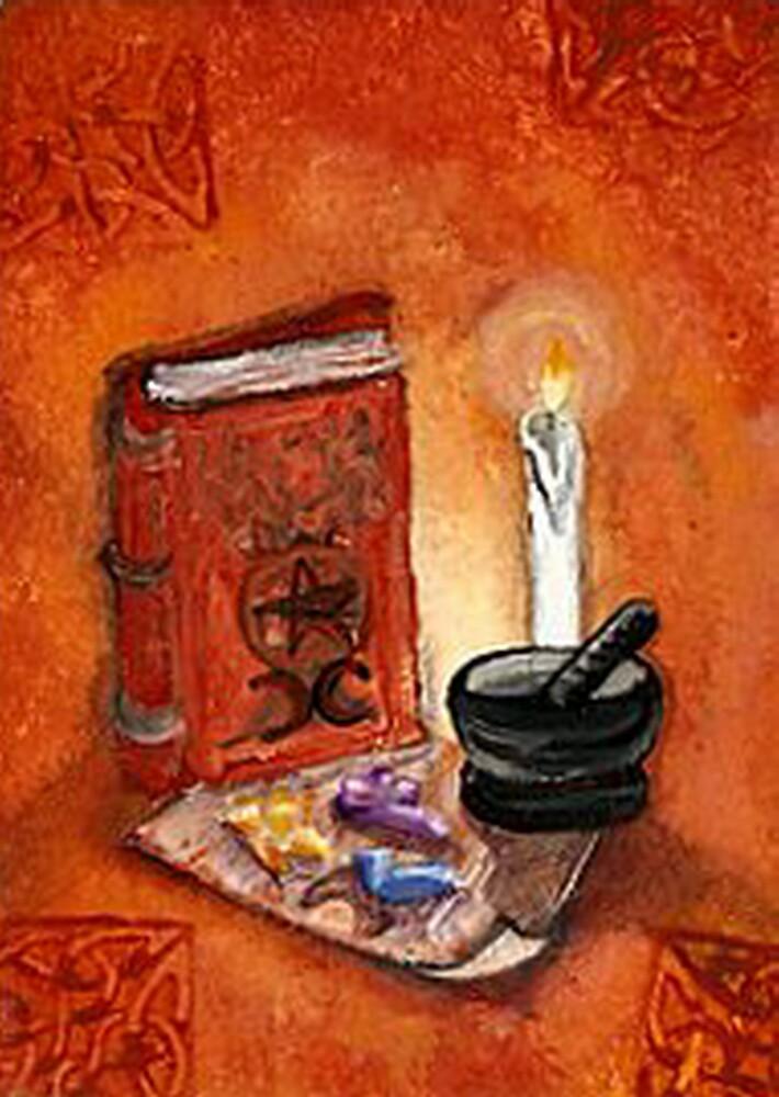 Book of Spells (Color) by artbyskym