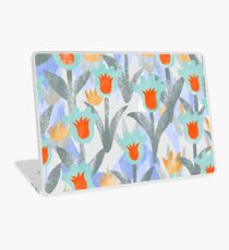 Fluffy Tulips Laptop Skin