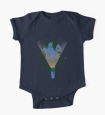 Scary earth Kids Clothes