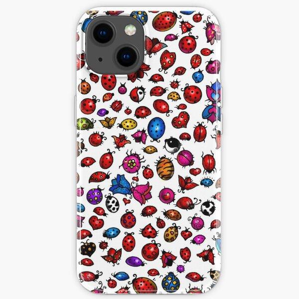 Ladybug Tattoos iPhone Soft Case