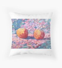 Cezanne-inspired Apples Throw Pillow