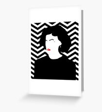 Audrey Horne Greeting Card