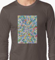 1813 - Softly Coloured Centered Around Nothing Long Sleeve T-Shirt