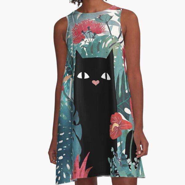 Popoki A-Line Dress