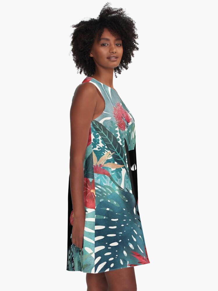 Alternate view of Popoki A-Line Dress