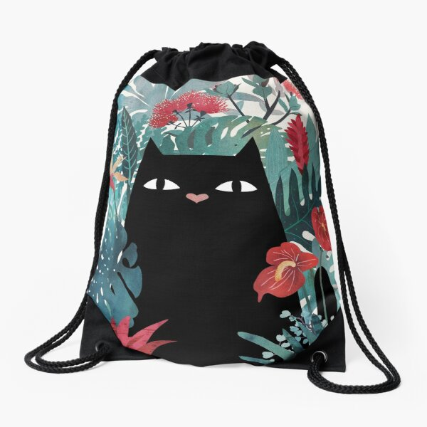 Popoki Drawstring Bag