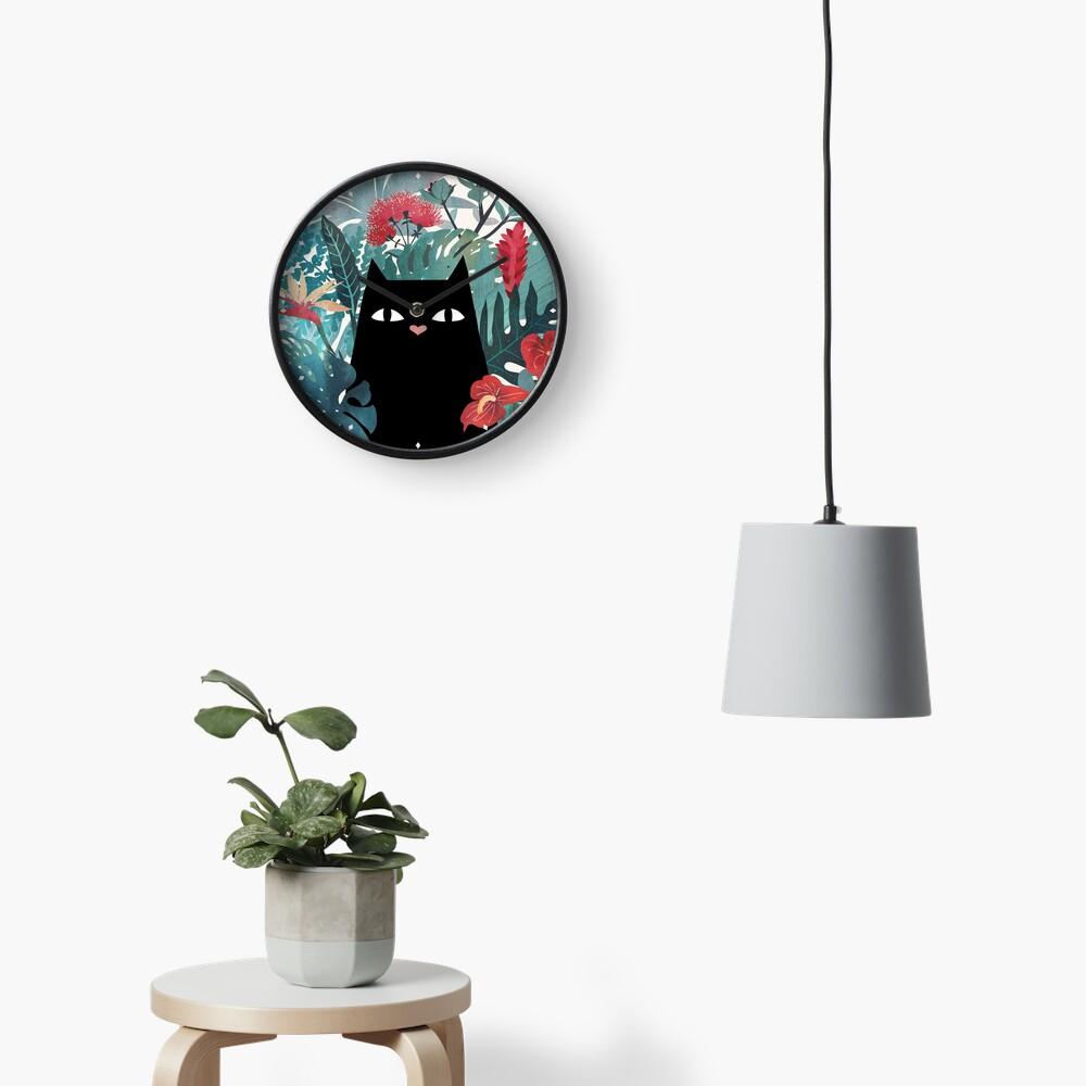 Popoki Clock