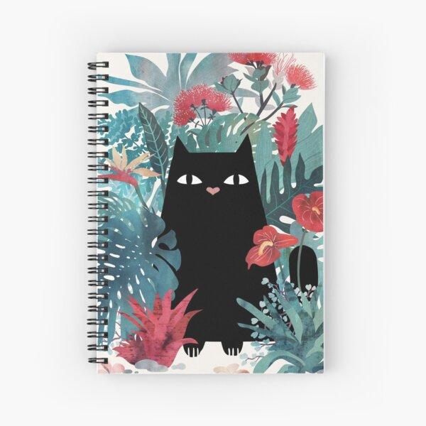 Popoki Spiral Notebook