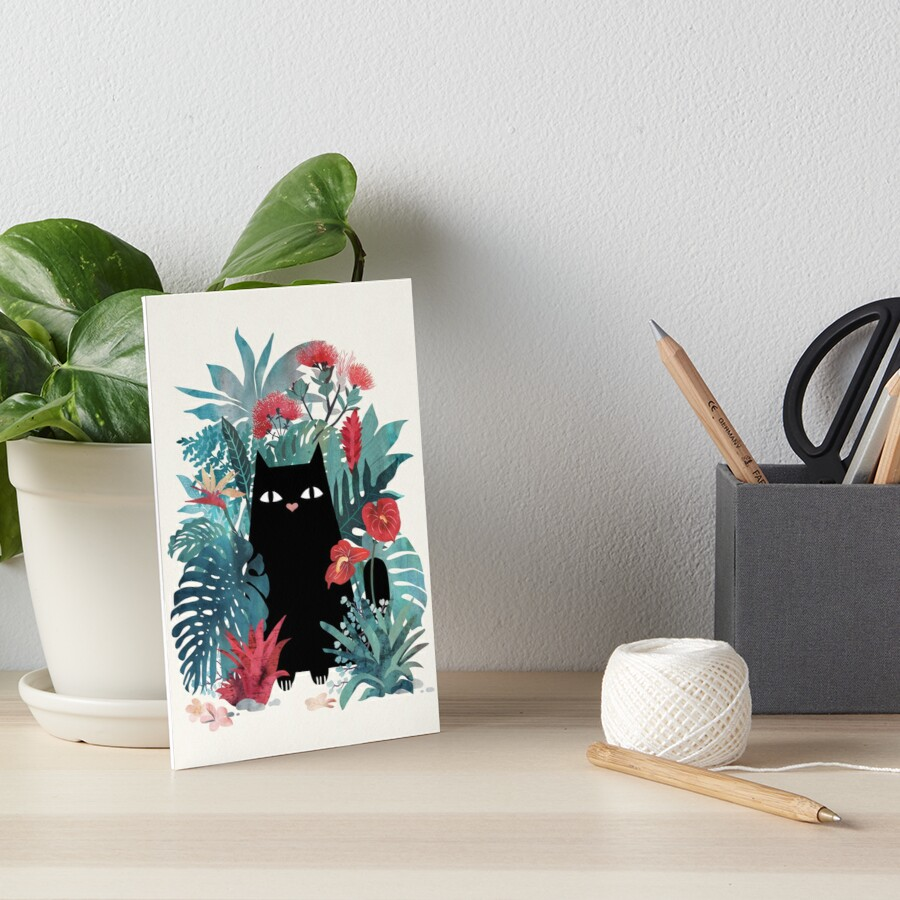 Popoki Art Board Print