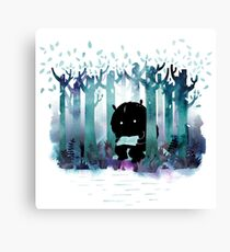 A Quiet Spot Canvas Print