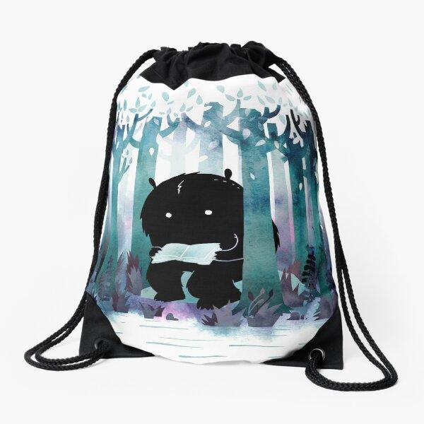 A Quiet Spot Drawstring Bag