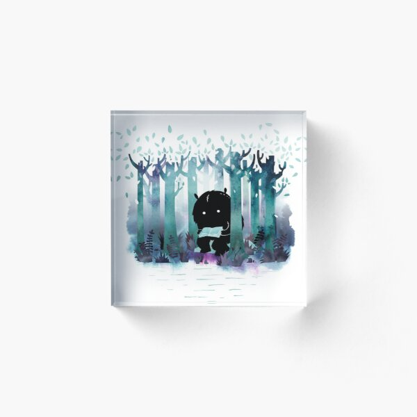 A Quiet Spot Acrylic Block