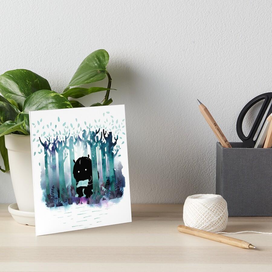 A Quiet Spot Art Board Print