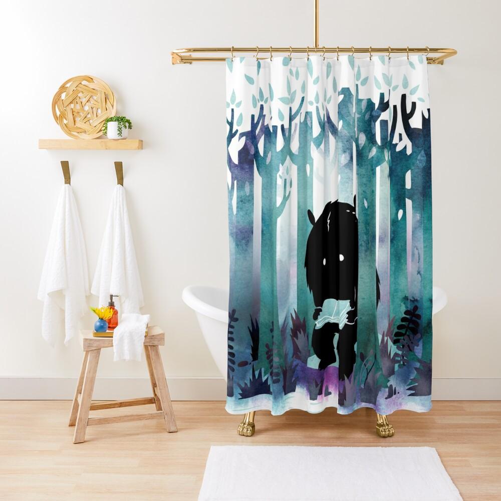 A Quiet Spot Shower Curtain