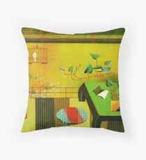 Loitering Throw Pillow