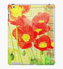 Poppyfied iPad Case/Skin
