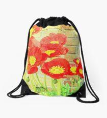 Poppyfied Drawstring Bag