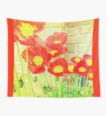 Poppyfied Wall Tapestry