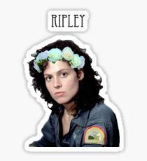 ELLEN RIPLEY FLOWER CROWN Sticker