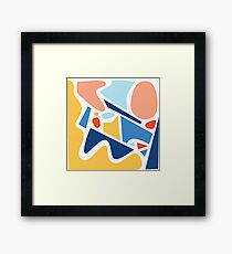 Squeeze In 1.1 Framed Print