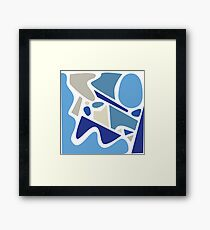 Squeeze In 1.2 Framed Print