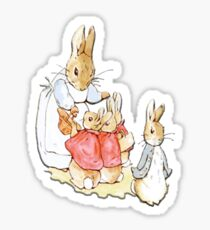 Nursery Characters, Peter Rabbit, Beatrix Potter  Sticker