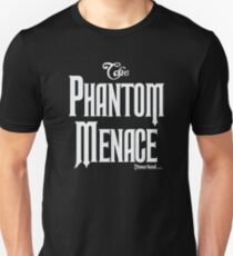 THE PHANTOM MENACE - Phantom Manor Parody T-Shirt