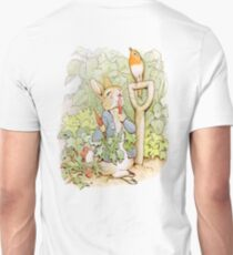 Nursery Characters, Peter Rabbit eating radishes, The Tale of Peter Rabbit T-Shirt