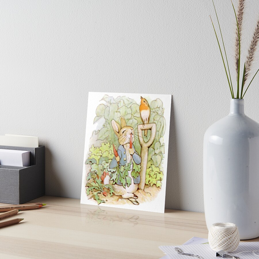 peter rabbit nursery characters peter rabbit eating. Black Bedroom Furniture Sets. Home Design Ideas