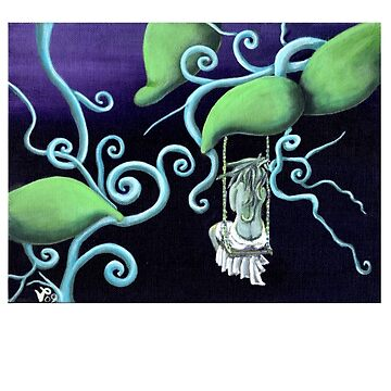Glissful Surreal Fairy Swing Fantasy by VickiBowerArt