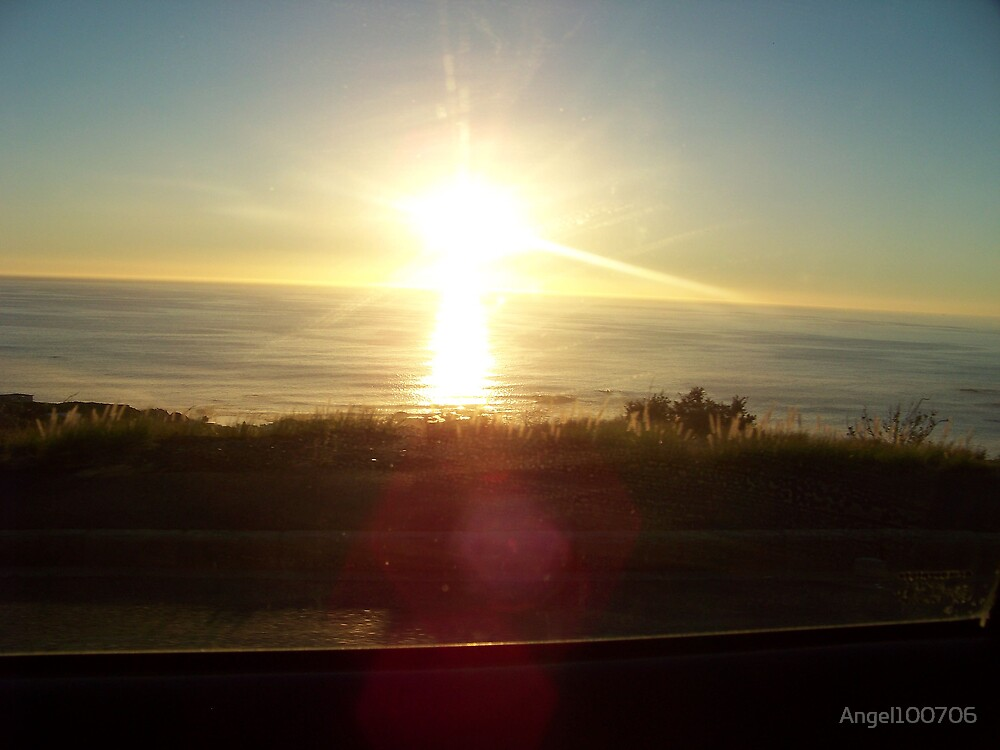 Sunset over Camps Bay by Angel100706