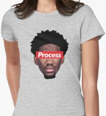process Women's Fitted T-Shirt