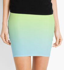 NEON BLASTER - Plain Color iPhone Case and Other Prints Mini Skirt
