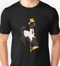 Brown and Gold Bucking Horse T-Shirt