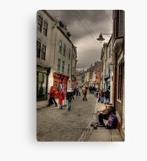 Busking Canvas Print