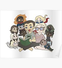 Reading with the baby vigilantes  Poster