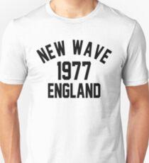 New Wave 1977 England Unisex T-Shirt
