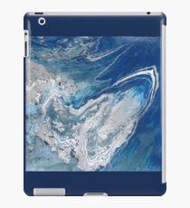 blue planet earth space iPad Case/Skin