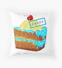 CAKES Throw Pillow