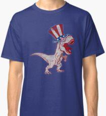 4th Of July Dinosaur  Classic T-Shirt
