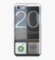 20 Canada Square iPhone Case/Skin