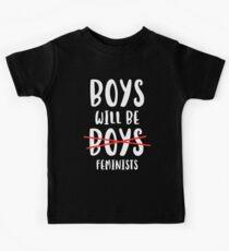Boys Will Be Feminists Kids Tee