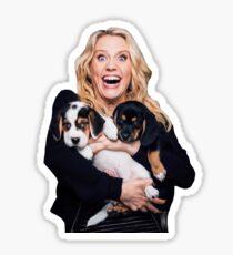 Kate McKinnon and Puppies Sticker
