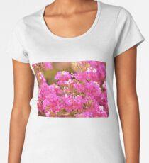 Pretty Pink Petals Women's Premium T-Shirt