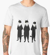 Tuxedo cats Men's Premium T-Shirt