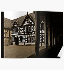 Lord Leycester Hospital Courtyard Poster