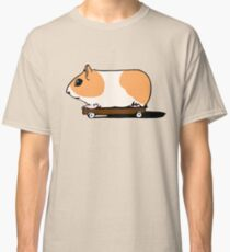 Guinea Pig on Skate Classic T-Shirt